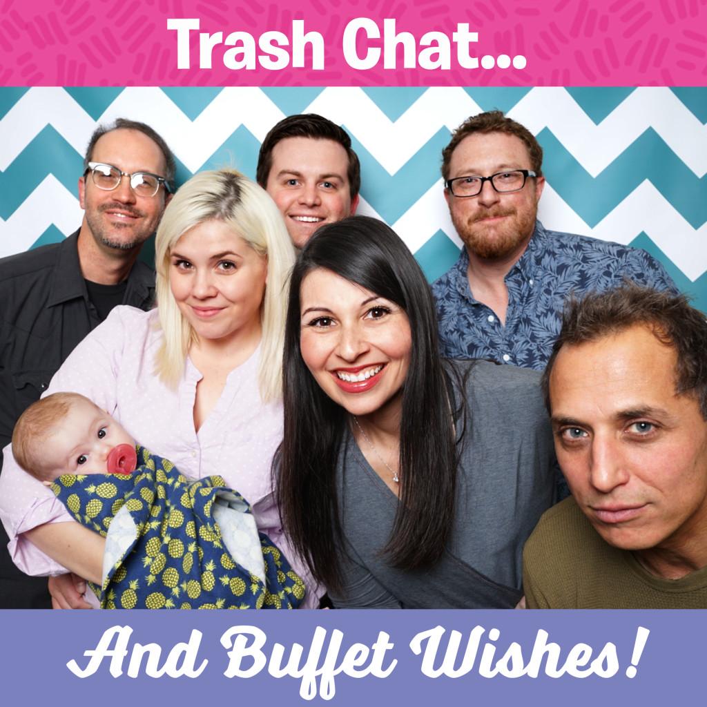 ARIYNBF Trash Chat & Buffet Wishes