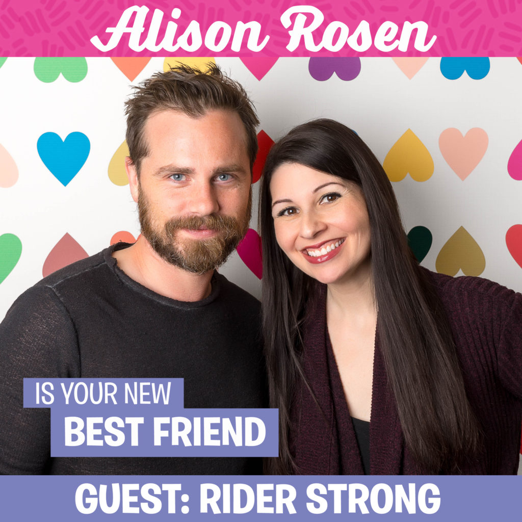 Rider Strong | Alison Rosen